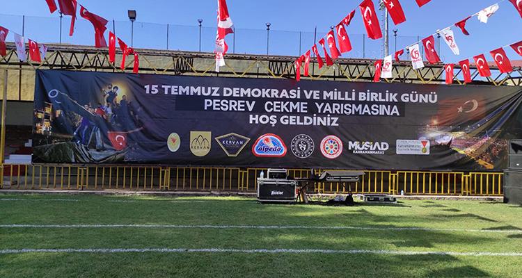 15 Temmuz Demokrasi ve Milli Birlik Günü Peşrev Çekme Yarışması Düzenlendi