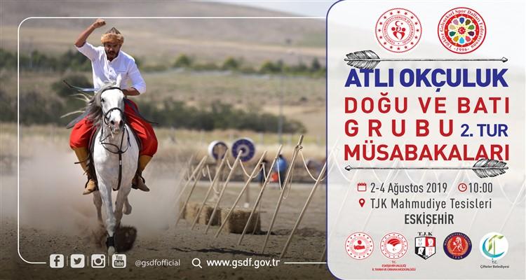 2019 yılı Atlı Okçuluk 2.Tura Yükselen Sporcuların Dikkatine!