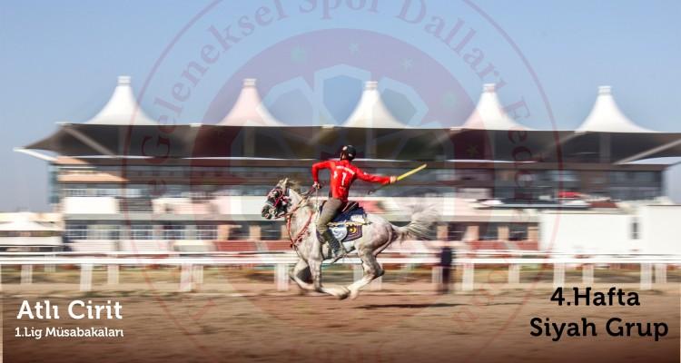 Atlı Cirit 1.ligi müsabakalarının son haftasında Uşak Susuz Ören finale yükseldi