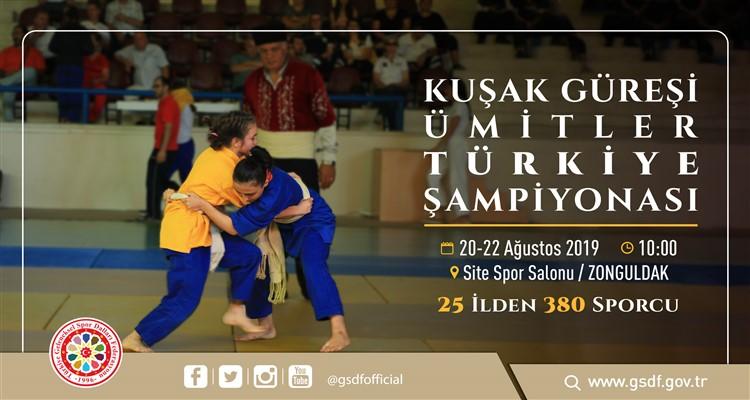 Kuşak Güreşi Ümitler Türkiye Şampiyonası