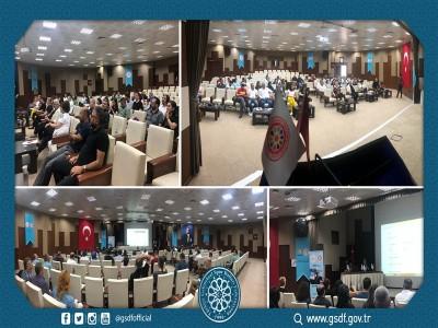 15 Haziran 2019 - Atlı Okçuluk Zorunlu Hakem Gelişim Semineri Ankara'da gerçekleştirildi.
