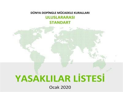 2020 YILI WADA YASAKLILAR LİSTESİ