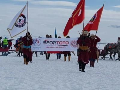 Çıldır Kristal Göl IV. Uluslararası Kış Şöleni Ardahan'da Düzenlendi