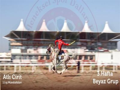 Atlı Cirit 1.ligi müsabakalarının üçüncü haftasının galibi Uşak Bireylül