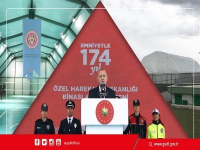 Polis Özel Harekat Başkanlığına Memran Tipi Spor Salonu Armağan Edilmiştir.