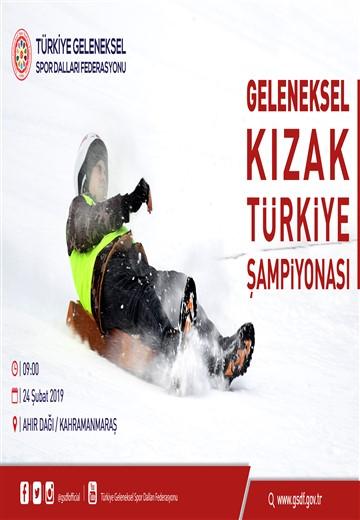 Geleneksel Kızak 2019 Türkiye Şampiyonası