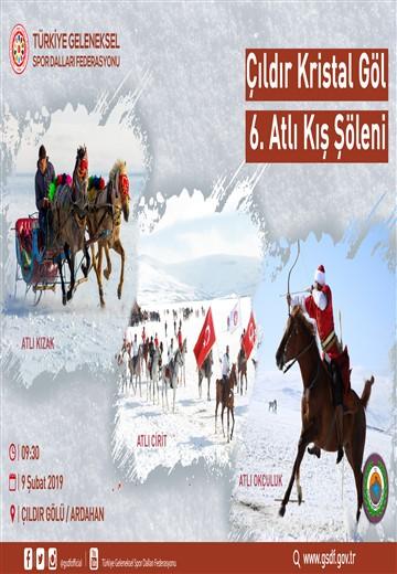 ÇILDIR KRİSTAL GÖL 6.ATLI KIŞ ŞÖLENİ